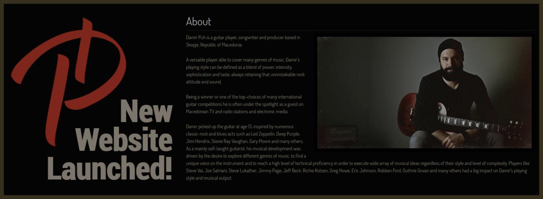 Damir Puh Official Website